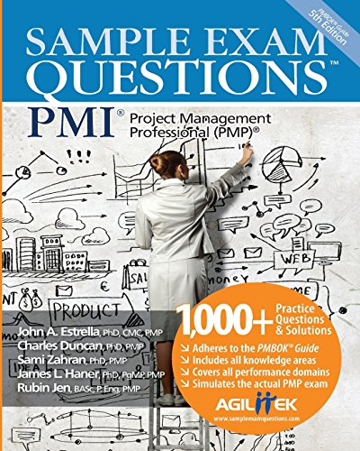 9780978435431: Sample Exam Questions: PMI Project Management Professional (PMP)