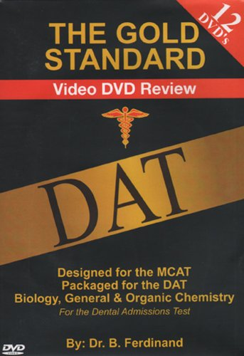 9780978463830: Gold Standard Video DAT Science Review (12 DVDS)