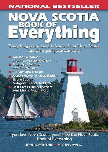 9780978478438: Nova Scotia Book of Everything: Everything You Wanted to Know About Nova Scotia and Were Going to Ask Anyway