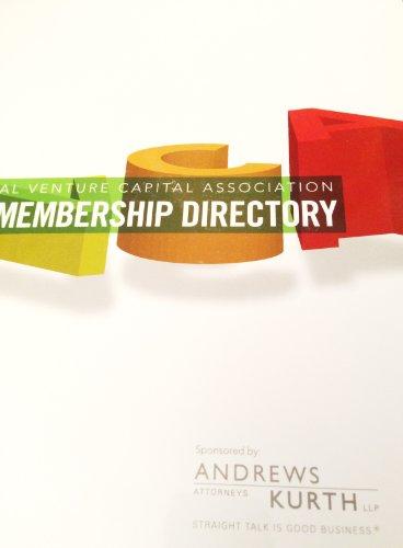 9780978501525: National Venture Capital Association 2007 Membership Directory