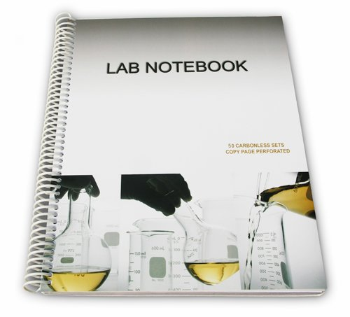 9780978534417: Chemistry Lab Notebook 75 Carbonless Duplicating Pages