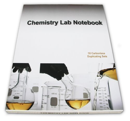 Chemistry Lab Notebook 50 Carbonless Duplicating Pages Permanent Top Bound: Barbakam
