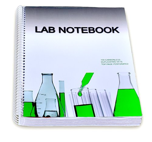 9780978534486: Lab Notebook 100 Carbonless Pages Spiral Bound (Top Page Perforated)