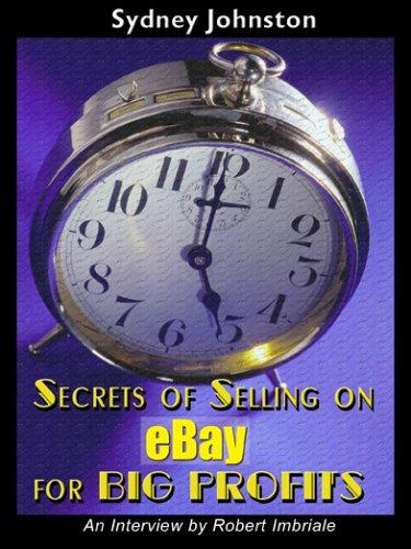 9780978542603: Secrets For Selling On Ebay For Big Profits
