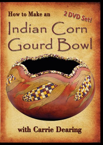 9780978542696: How to Make an Indian Corn Gourd Bowl