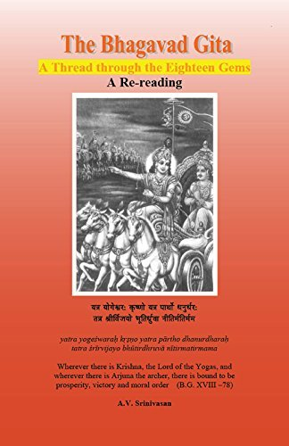 Stock image for The Bhagavad Gita: A Thread through the Eighteen Gems for sale by Better World Books