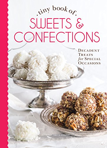 9780978548902: Tiny Book of Sweets & Confections: Decadent Treats for Special Occasions (Tiny Books)