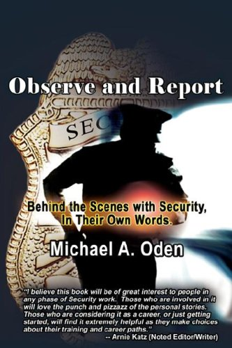 9780978550967: Observe and Report