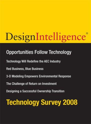 Design Intelligence : May / June 2008, Volume 14, Number 3: Cramer, James P. - et al