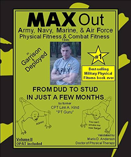 9780978575335: MAX Out the Army, Navy, Marine, and Air Force Physical Fitness and Combat Fitness Tests