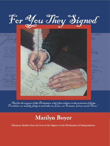 For You They Signed -Character Studies from: Marilyn Boyer