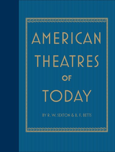 9780978588168: American Theatres of Today