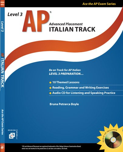 AP Italian Track Level 3 (Ace the: Bruna Petrarca Boyle