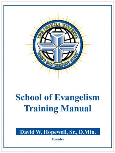 9780978605636: The Joshua Ministry School of Evangelism Training Manual  ID# 6029918