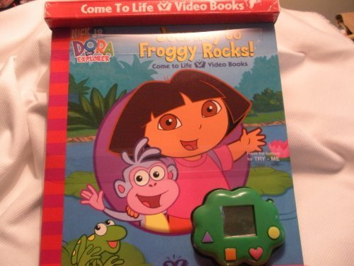 Dora The Explorer Journey to Froggy Rocks Video Book: Unknown