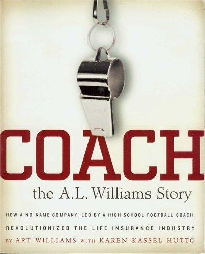 9780978626600: Coach: The A. L. Williams Story