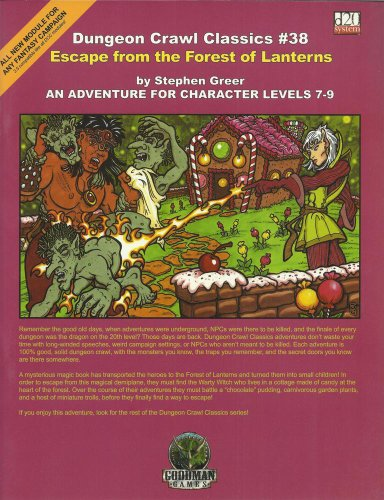 Dungeon Crawl Classics 38: Escape from the Forest of Lanterns: Greeg, Stephen