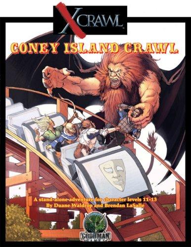 Xcrawl Coney Island Crawl: Brendan Lasalle