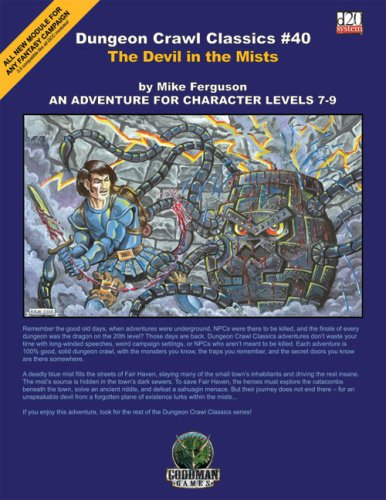 9780978637071: Dungeon Crawl Classics 40: Devil in the Mists (Dungeon Crawl Classics)