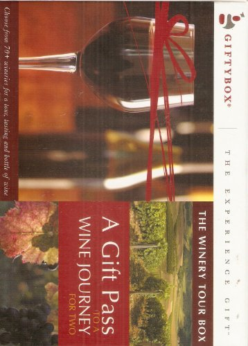 The Winery Tour Box A Gift Pass To A Wine Journey For Two: Giftybox - The Experience Gift
