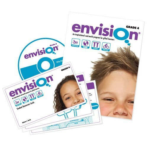 9780978671563: Envision: Grade 4 Complete Program (An Inspirational Real-World Program for Gifted Learners)