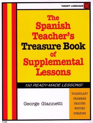 9780978674601: The Spanish Teacher's Treasure Book of Supplemental Lessons