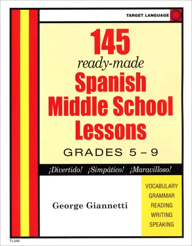 9780978674663: Spanish Middle School Lesson Plans (Spanish Edition)