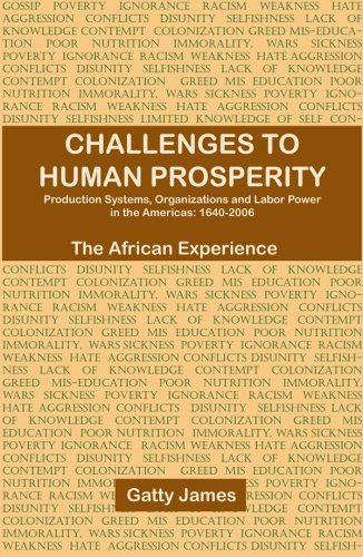 Challenges to Human Prosperity: Gatty James