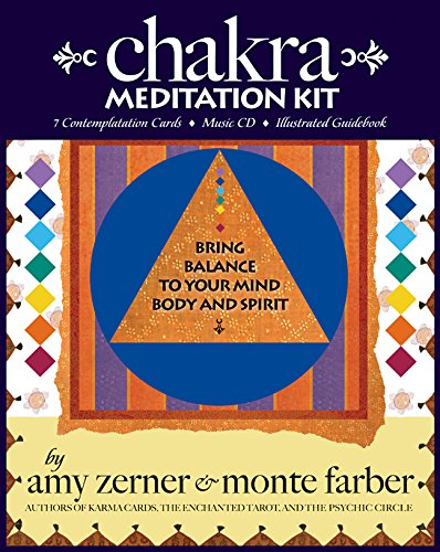 9780978696818: Chakra Meditation Kit: Bring Balance to Your Mind, Body and Spirit (Book, Cards, and CD)