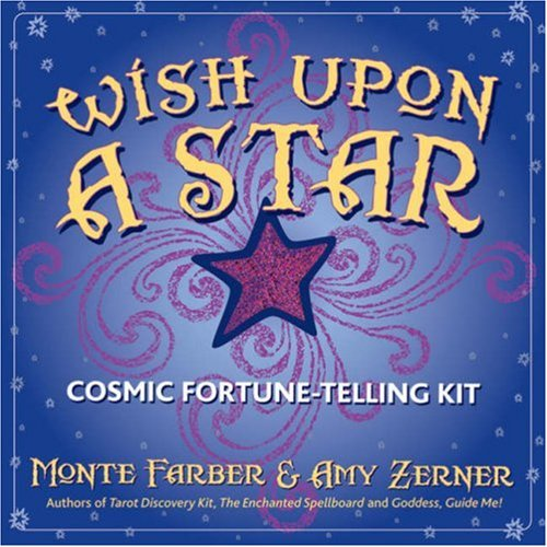 9780978696870: Wish Upon a Star: Cosmic Fortune-Telling Kit [With 22 Etched Resin Stars and Drawstring Bag]