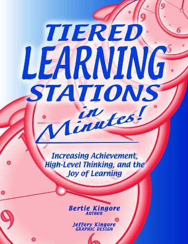 9780978704278: Tiered Learning Stations in Minutes: Increasing Achievement, High-Level Thinking, and the Joy of Learning (CD-ROM included)