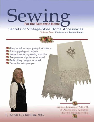 Sewing for the Romantic Home: Christian, Kandi L.