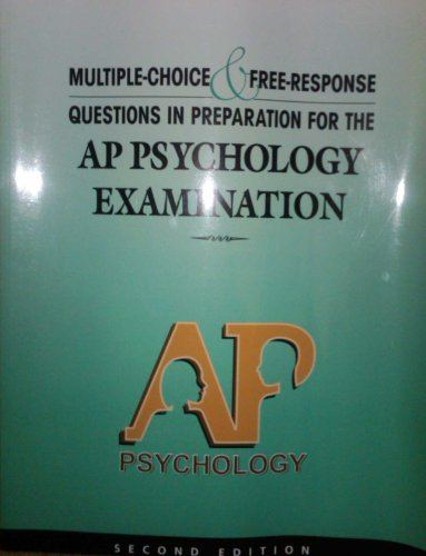 9780978719920: Multiple Choice and Free Response Questions