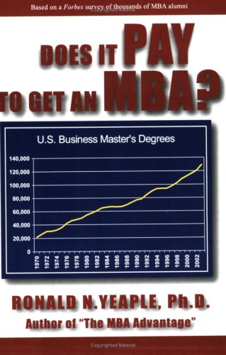 9780978754105: Does It Pay to Get an MBA?