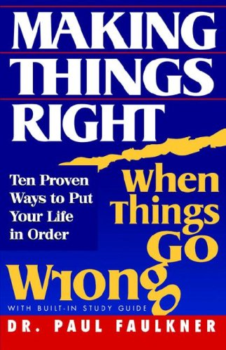 9780978761202: Making Things Right When Things Go Wrong
