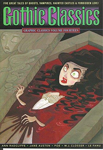 Graphic Classics Volume 14: Gothic Classics: Ann Radcliffe, Jane