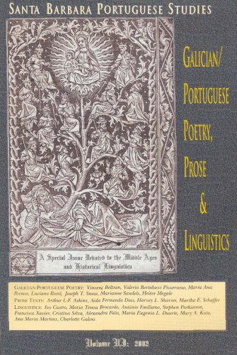Santa Barbara Portuguese Studies 6. A special Issue Dedicated to the Middle Ages and Historical ...