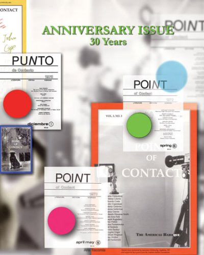 Point of Contact Volume 8 No. 1-2: Anniversary Issue 30 Years (Paperback): Pedro Cuperman