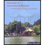 Essentials of International Business (Core Principles Concepts and Strategies) [Paperback]: Brian ...