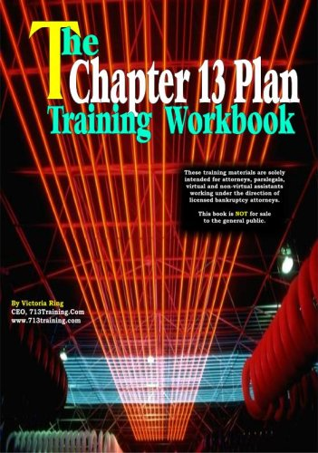 9780978878221: The Chapter 13 Plan Training Workbook