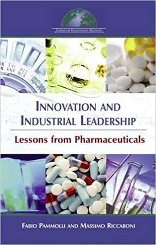 9780978882143: Innovation and Industrial Leadership: Lessons from Pharmaceuticals