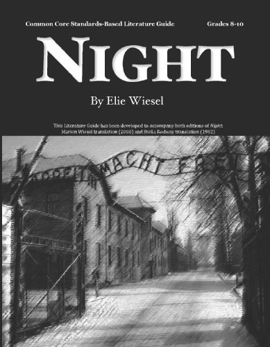 9780978920401: Night Literature Guide (Common Core and NCTE/IRA Standards-Aligned Teaching Guide)