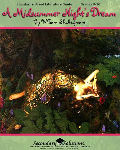 9780978920470: A Midsummer Night's Dream Literature Guide (Secondary Solutions)