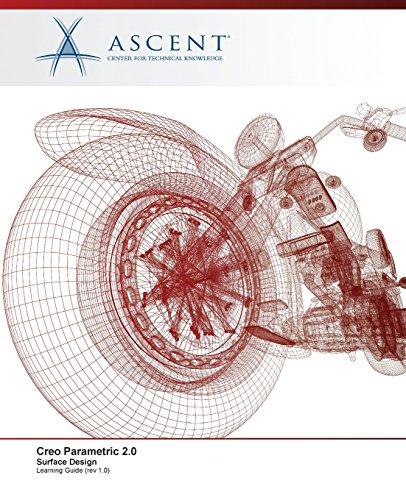 9780978933500: Creo Parametric 2.0: Surface Design