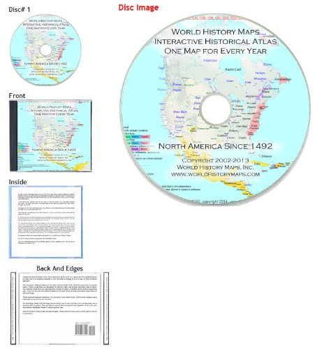 9780978933944: Interactive Historical Atlas of North America Since 1492
