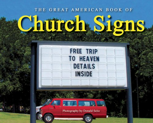 9780978971502: The Great American Book of Church Signs