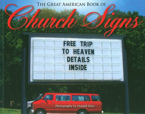 9780978971519: The Great American Book of Church Signs