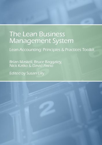 9780978976019: The Lean Business Management System; Lean Accounting Principles & Practices Toolkit