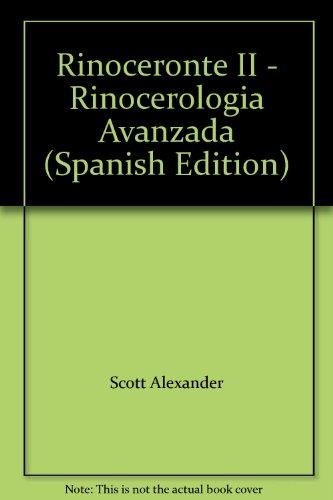 9780978982010: Rinoceronte II - Rinocerologia Avanzada (Spanish Edition)