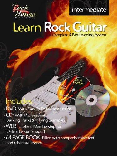 9780978983246: Learn Rock Guitar Intermediate (The Rock House Method)
